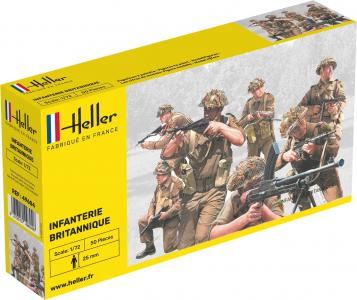 Infanterie Britannique · HE 49604 ·  Heller · 1:72