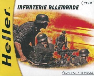 Deutsche Infanterie · HE 49605 ·  Heller · 1:72