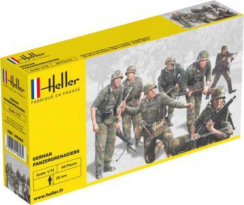 Panzergrenadiers Allemands · HE 49606 ·  Heller · 1:72