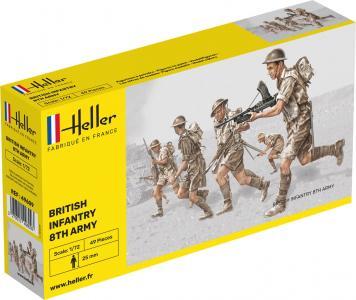 Britische Infanterie 8. Armee · HE 49609 ·  Heller · 1:72