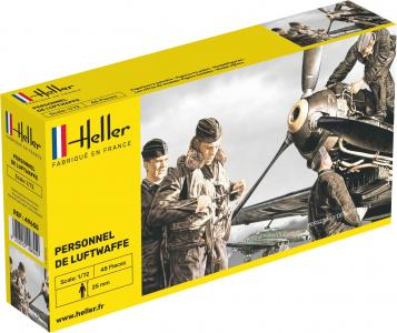 Deutsche Luftwaffe Personal · HE 49655 ·  Heller · 1:72