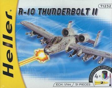 A-10 Thunderbolt II · HE 49912 ·  Heller · 1:144
