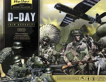 D-Day Luftangriff · HE 52313 ·  Heller · 1:72