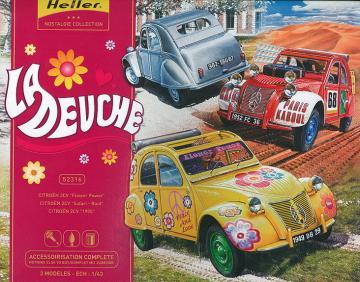 La Deuche · HE 52316 ·  Heller · 1:43