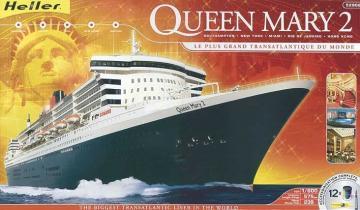 Queen Mary 2 Kit · HE 52902 ·  Heller · 1:600