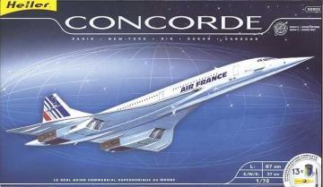 Concorde Kit · HE 52903 ·  Heller · 1:72