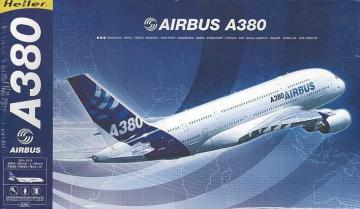 Airbus A 380 · HE 52904 ·  Heller · 1:125