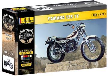 Yamaha TY 125 · HE 52994 ·  Heller · 1:8