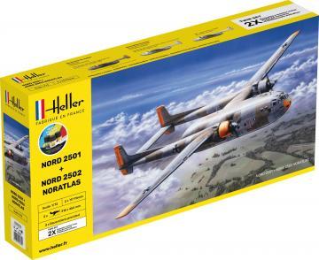 Nord 2501 + Nord 2502 NORATLAS TWINSET - Starter Kit · HE 55374 ·  Heller · 1:72