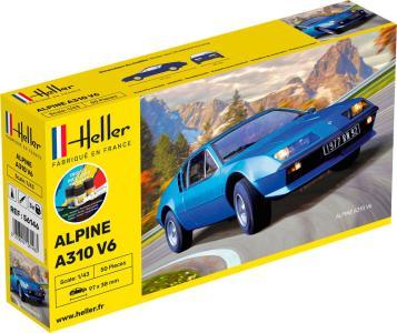 Alpine A310 - Starter Kit · HE 56146 ·  Heller · 1:43
