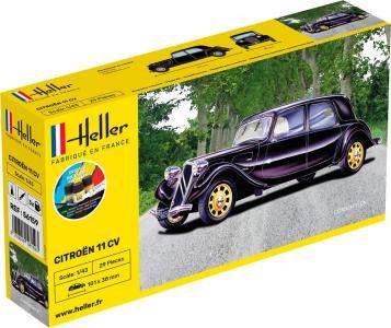 Citroen 11 CV - Starter Kit · HE 56159 ·  Heller · 1:43