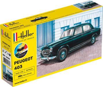 Peugeot 403 - Starter Kit · HE 56161 ·  Heller · 1:43