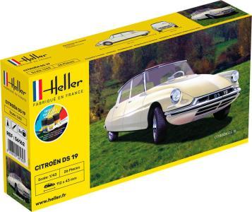 Citroen DS 19 - Starter Kit · HE 56162 ·  Heller · 1:43