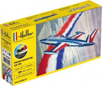 Fouga Magister CM 169 - Starter Kit · HE 56220 ·  Heller · 1:72