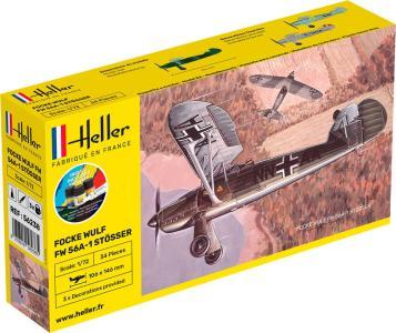 Focke Wulf Stosser - Starter Kit · HE 56238 ·  Heller · 1:72