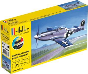 P-51 Mustang - Starter Kit · HE 56268 ·  Heller · 1:72