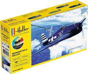 F6F Hellcat - Starter Kit · HE 56272 ·  Heller · 1:72