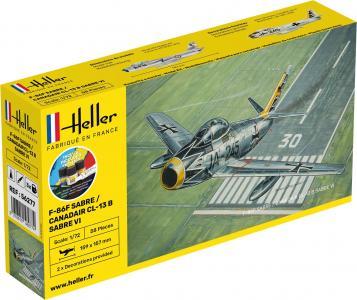 F-86F SABRE / CANADAIR CL-13 B Sabre VI - Starter Kit · HE 56277 ·  Heller · 1:72