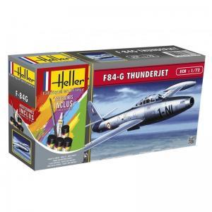 F-84G Thunderjet · HE 56278 ·  Heller · 1:72
