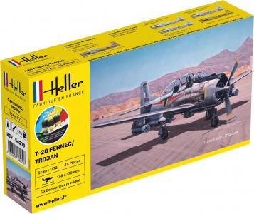 T-28 FENNEC /TROJAN - Starter Kit · HE 56279 ·  Heller · 1:72
