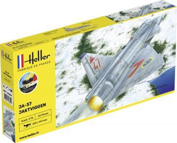 Ja-37 Jaktviggen - Starter Kit · HE 56309 ·  Heller · 1:72