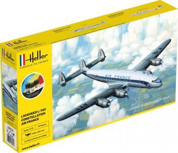 L-749 Constellation A.F. - Starter Kit · HE 56310 ·  Heller · 1:72