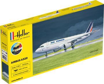 Airbus A-320 Air France - Starter Kit · HE 56448 ·  Heller · 1:125