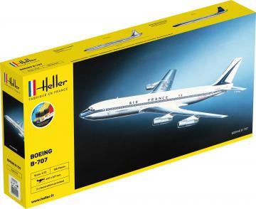 Boeing B-707 Air France - Starter Kit · HE 56452 ·  Heller · 1:72