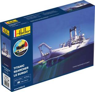 Titanic Searcher Le Suroit - Starter Kit · HE 56615 ·  Heller · 1:200