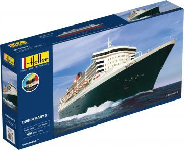 Queen Mary 2 - Starter Kit · HE 56626 ·  Heller · 1:600