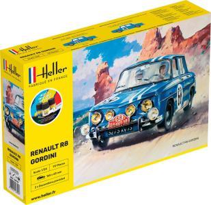 Renault R8 Gordini - Starter Kit · HE 56700 ·  Heller · 1:24