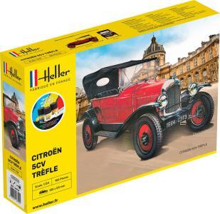Citroen Trefle - Starter Kit · HE 56702 ·  Heller · 1:24