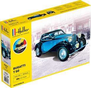 Bugatti T 49 - Starter Kit · HE 56706 ·  Heller · 1:24