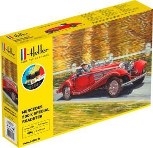 500 K Special Roadster - Starter Kit · HE 56710 ·  Heller · 1:24