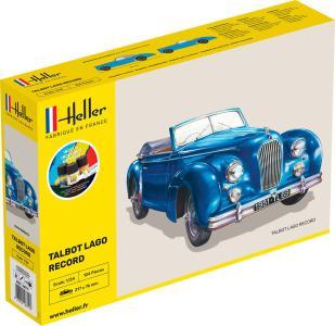 Talbot Lago Record - Starter Kit · HE 56711 ·  Heller · 1:24