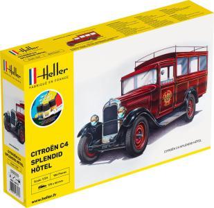 Citroen C4 Splendid Hotel - Starter Kit · HE 56713 ·  Heller · 1:24