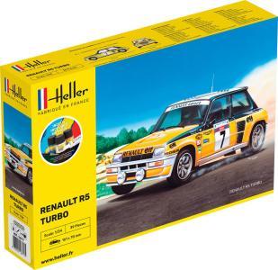 Renault R5 Turbo - Starter Kit · HE 56717 ·  Heller · 1:24