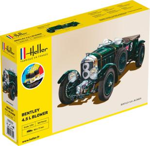 Bentley Blower - Starter Kit · HE 56722 ·  Heller · 1:24