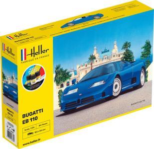 BUGATTI EB 109 - Starter Kit · HE 56738 ·  Heller · 1:24