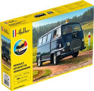 Renault Alouette Gendarmerie - Starter Kit · HE 56742 ·  Heller · 1:24