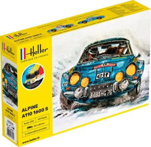 Alpine A110 (1600) - Starter Kit · HE 56745 ·  Heller · 1:24