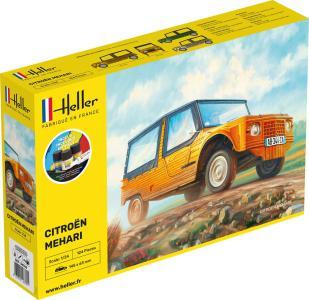 Citroen Mehari (Version 1) - Starter Kit · HE 56760 ·  Heller · 1:24