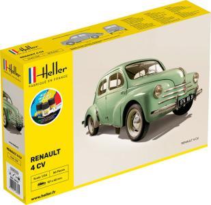 Renault 4 CV - Starter Kit · HE 56762 ·  Heller · 1:24