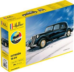 Citroen 15 CV - Starter Kit · HE 56763 ·  Heller · 1:24