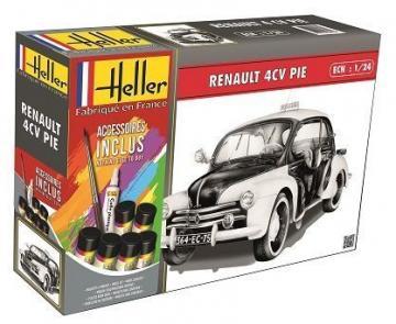 Renault 4 CV PIE · HE 56764 ·  Heller · 1:24