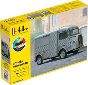 Citroen Fourgon Hy Tube - Starter Kit · HE 56768 ·  Heller · 1:24