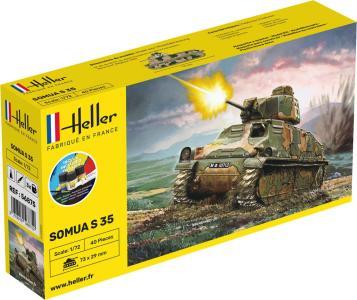 Somua S 35 · HE 56875 ·  Heller · 1:72