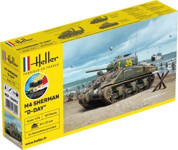 Sherman - Starter Kit · HE 56892 ·  Heller · 1:72