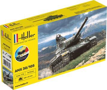AMX 30/105 - Starter Kit · HE 56899 ·  Heller · 1:72