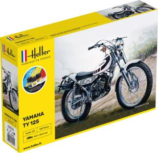 TY 125 Bike - Starter Kit · HE 56902 ·  Heller · 1:8